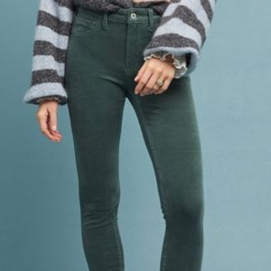 Pilcro high-rise Skinny Ankle Corduroy 29